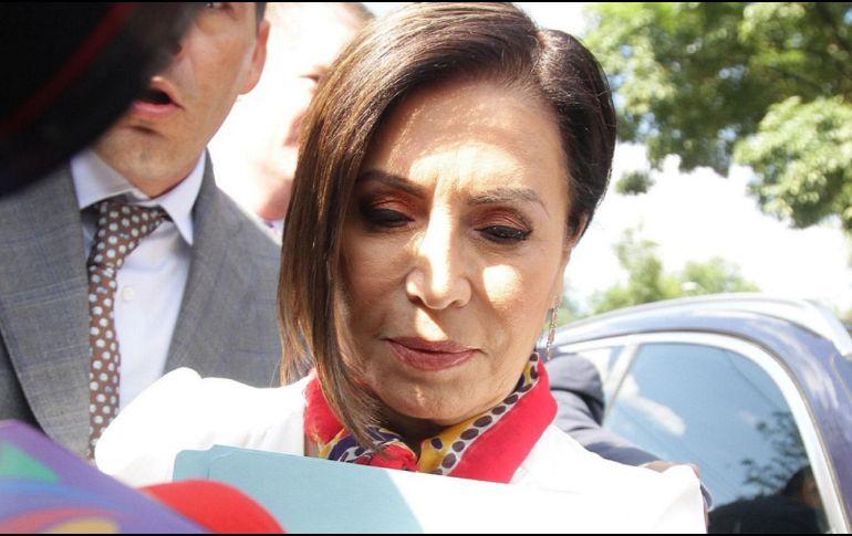 Durante la diligencia, Robles indicó que la FGR jamás la buscó, como previamente le ordenó el juez. NTX / ARCHIVO