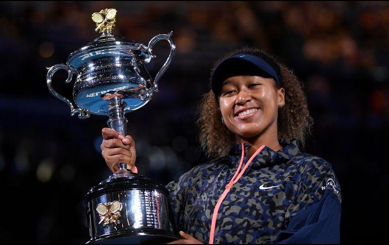 La japonesa Osaka se hizo con su cuarto major después de sus títulos en el US Open (2018 y 2020) y Abierto de Australia (2019). AP / A. Brownbill