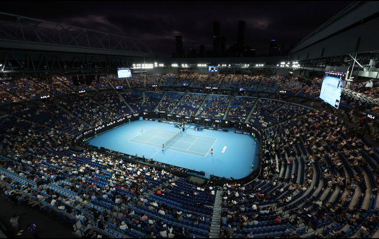La final se llevó a cabo en la cancha del Rod Laver Arena. AP / H. Blair