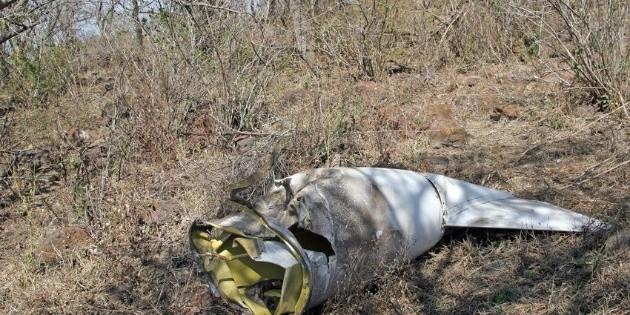 Avioneta se incendia tras desplomarse en Ahome, Sinaloa