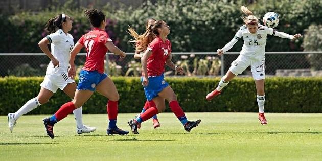La Selección Mexicana femenil empata ante Costa Rica en amistoso