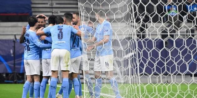 Manchester City vence al 'Gladbach'