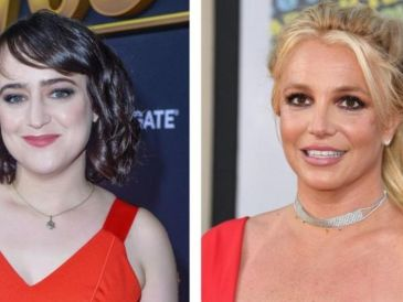 Mara Wilson and Britney Spears in 2019 GETTY IMAGES