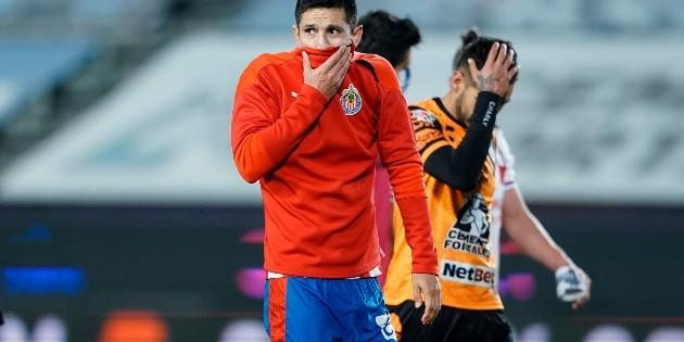 Chivas: Todos somos culpables de este mal paso, dice Molina