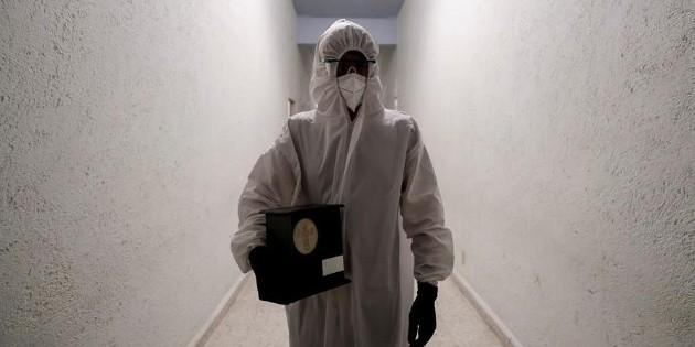 México alcanza las 183 mil 692 muertes por coronavirus