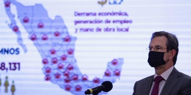 Esteban Moctezuma llega a Washington como embajador de México en EU