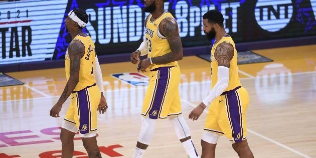 NBA: LeBron brilla, pero Lakers caen ante Suns