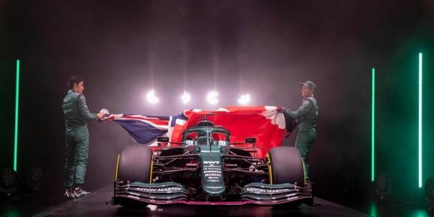 Aston Martin presenta su nuevo proyecto en la F1
