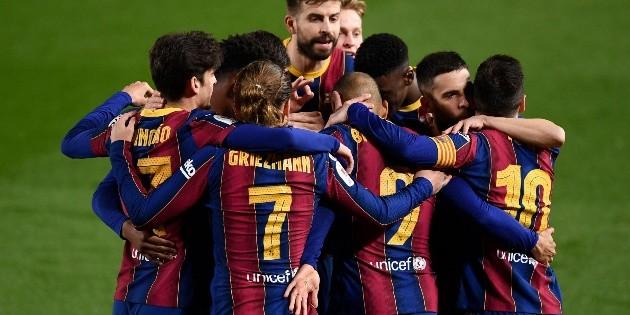 Barcelona logra la hazaña ante Sevilla y va a la final de Copa del Rey