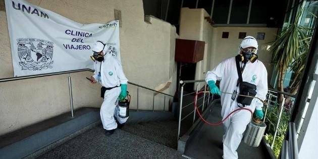 México suma 822 muertes por COVID-19 en las últimas 24 horas