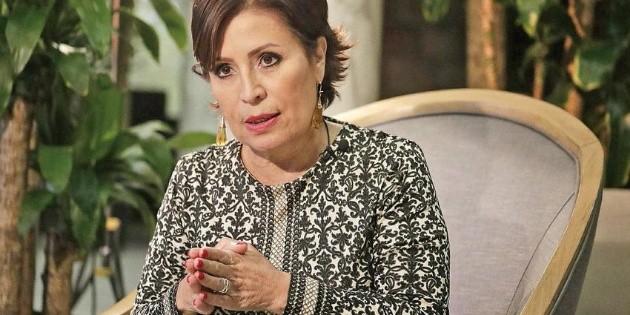 Estoy acusada de omisión y no de corrupción: Rosario Robles a AMLO
