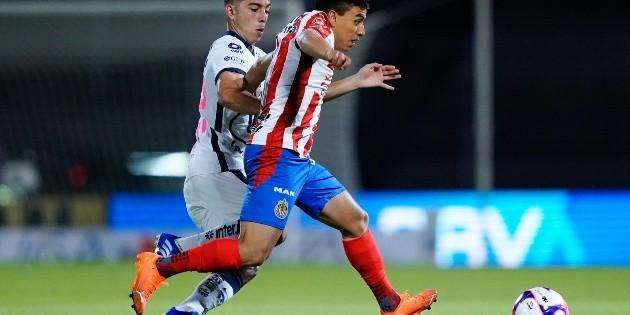 Fernando Beltrán tiene cinco meses sin jugar un partido completo con Chivas