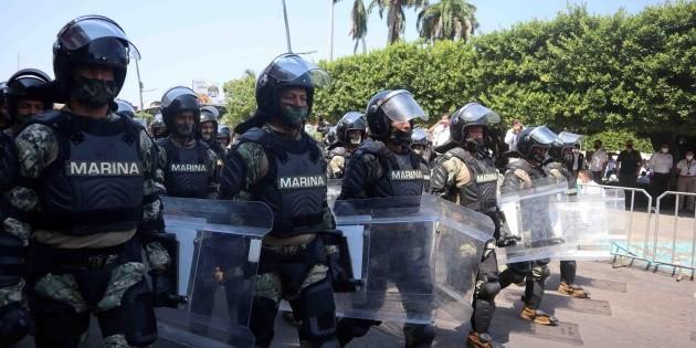 México blinda frontera sur ante la llegada de centroamericanos