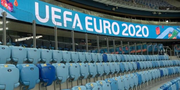 La UEFA anuncia decisión sobre público en estadios de la Eurocopa