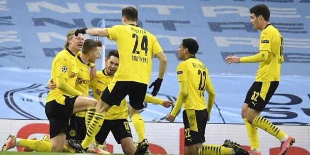 Con gol de Foden, el Manchester City toma ventaja frente al Dortmund