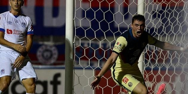 América supera a Olimpia 2-1 por Liga de Campeones de Concacaf