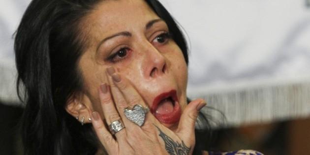 """""""Pongo las manos en el fuego por mi padre"""": Alejandra Guzmán"""