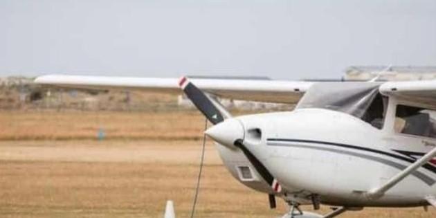 Se accidenta avioneta al aterrizar en aeropuerto de Querétaro