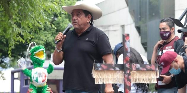 Félix Salgado da por muerto a Lorenzo Córdova