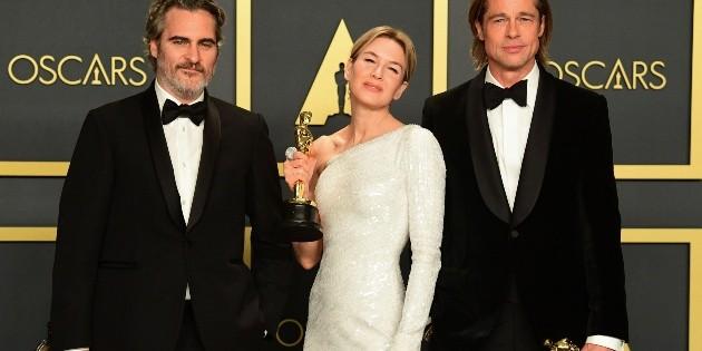 Oscar 2021: Brad Pitt, Joaquin Phoenix y Renee Zellweger, entre los presentadores
