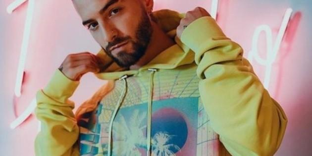 Maluma crea una colección de moda para Balmain