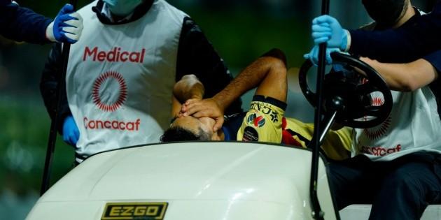 La aparatosa lesión que le causó jugador del Olimpia a ''Chucho'' López
