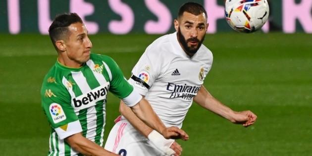 Con buenas actuaciones de Guardado y Lainez, Betis empata ante el Real Madrid