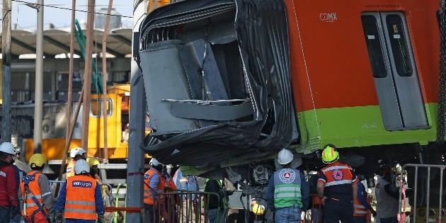 Comunidad internacional expresa solidaridad tras colapso en Metro de CDMX