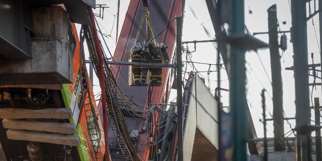 Directora del Metro de la CDMX descarta presentar renuncia tras accidente en Línea 12