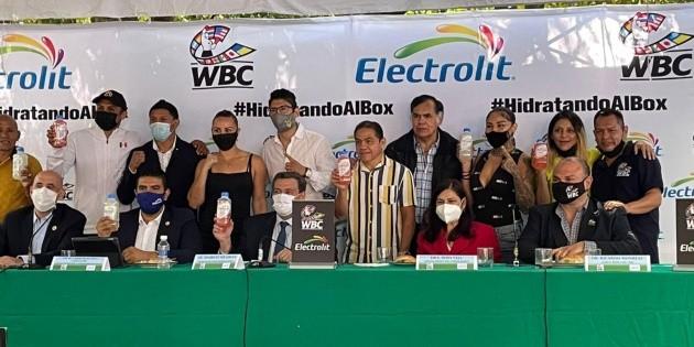 Electrolit, nuevo ''hidratador oficial'' del Consejo Mundial de Boxeo