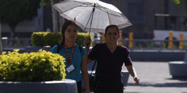 Clima en Guadalajara de hoy 8 de mayo: Máximas oscilarán entre 34 y 36