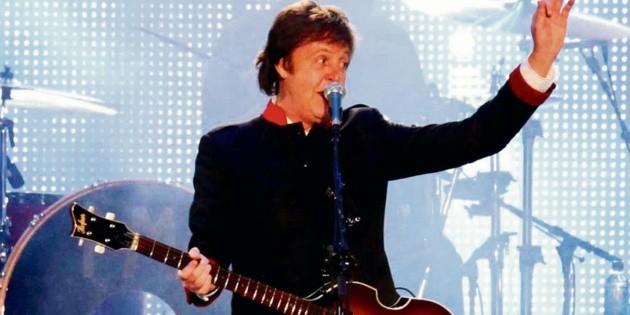 Paul McCartney lanzará libro