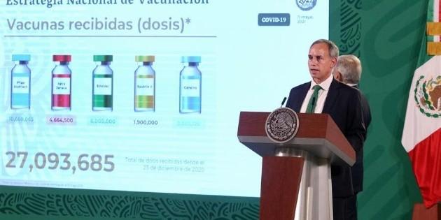 Hugo López-Gatell anuncia fecha para vacunarse contra el coronavirus