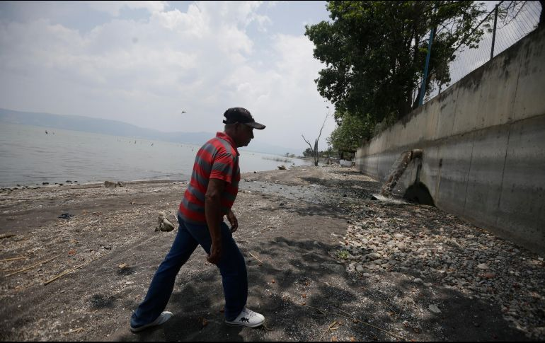 Specialists point out that the damage to Lake Chapala has been done.  THE INFORMER / F.  Attilano