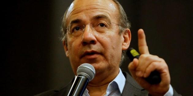 No nos levantemos en armas, levantémonos con votos: Calderón