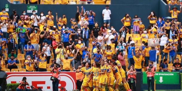 ¡Tigres es bicampeón de la Liga MX Femenil!