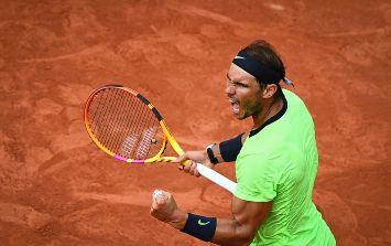 El español Rafael Nadal, número tresdel mundo en busca su 14º título en Roland Garros. AFP / C. Archambault