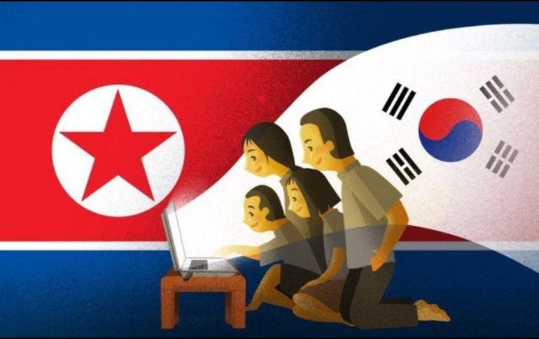 Aunque es ilegal, muchos en Corea del Norte miran programas extranjeros. BBC
