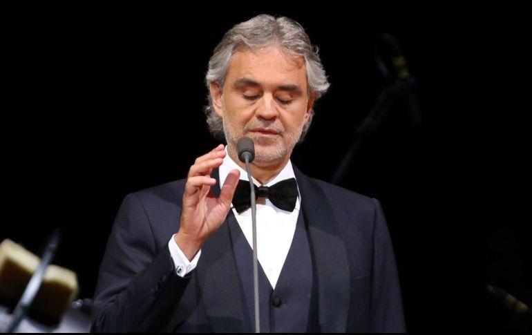 Bocelli se exhibirá con el aria de Giacomo Puccini