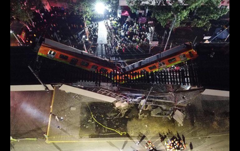 AMLO acusó que esta tragedia fue utilizada