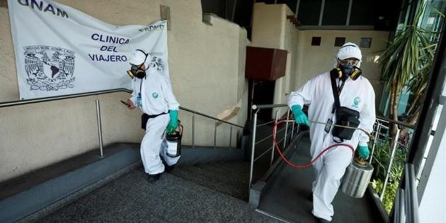 México acumula dos millones 445 mil 538 casos de coronavirus