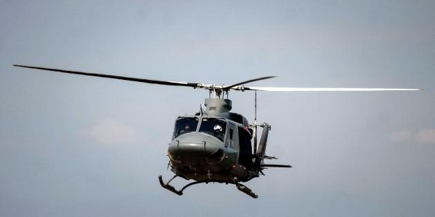 Helicóptero militar cae entre el Estado de México e Hidalgo