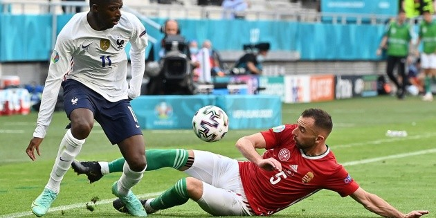 Ousmane Dembélé es baja por lesión para el resto de la Eurocopa