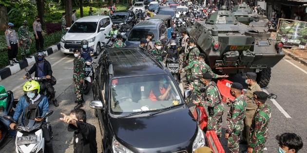 Indonesia afronta un rápido incremento del COVID-19 con falta de oxígeno |  El Informador