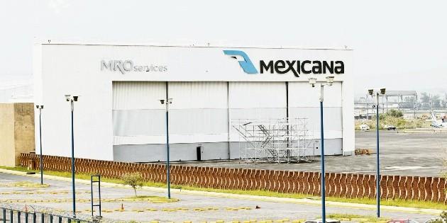 Mexicana busca liquidar activos y pagar salarios