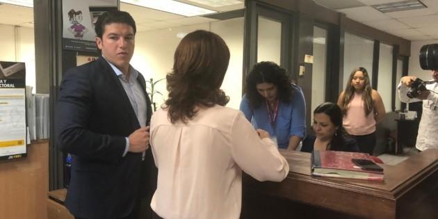 Samuel García impugna en el Tribunal Electoral multa millonaria del INE