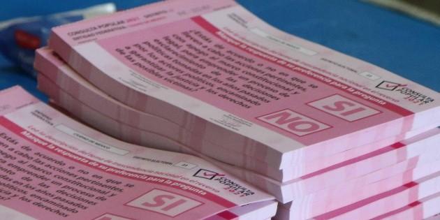 Denuncian relleno de urnas en Veracruz