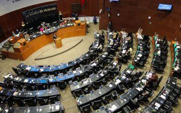 El dictamen se aprobó en lo general con 101 votos a favor y dos en contra de los senadores Gustavo Madero Muñoz y de Emilio Álvarez Icaza. EFE / J. Pazos