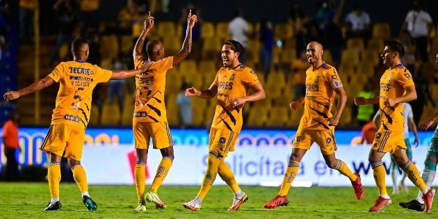 Tigres rescata el empate de último minuto ante León