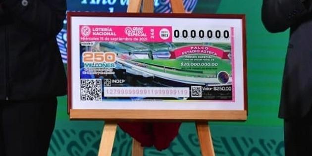 ¿A qué hora y dónde ver el sorteo de la Lotería Nacional?